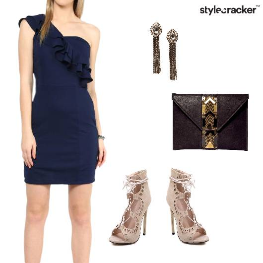 OffShoulder Night Party Dress - StyleCracker
