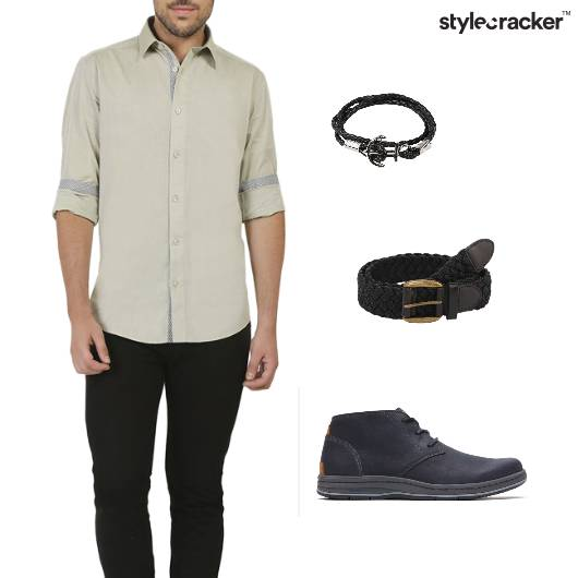 Shirt Chinos Casual Night  - StyleCracker