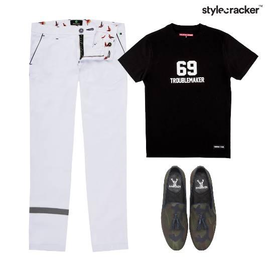 TShirt Chino Pants SlipOn Footwear - StyleCracker