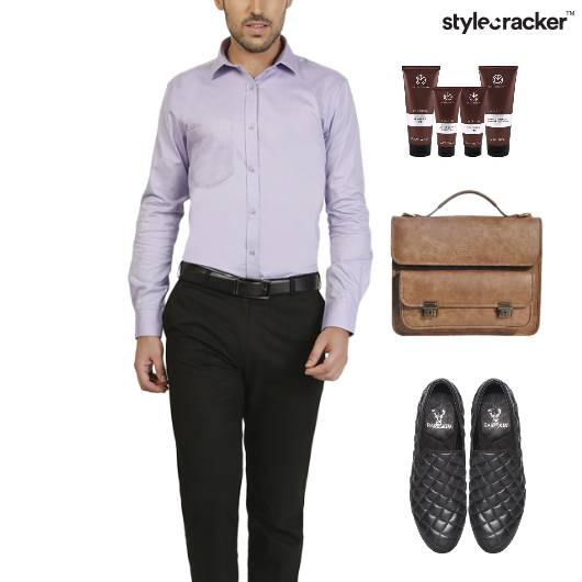 Shirt Chino Pants SlipOn Footwear - StyleCracker