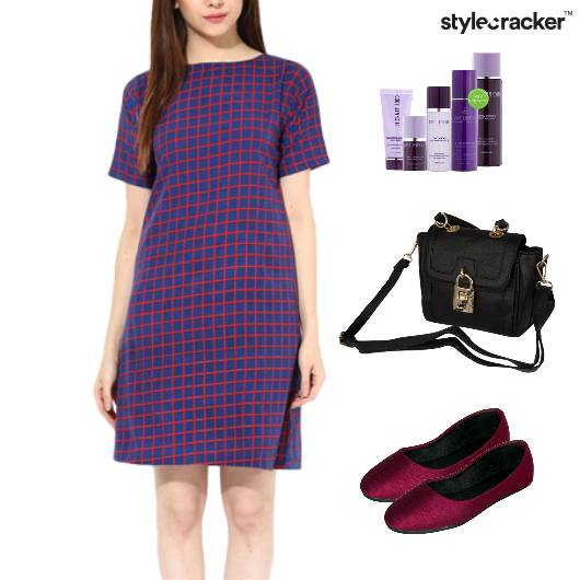 Dress Weekend BalletFlats SlingBag - StyleCracker