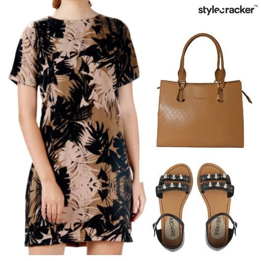 Floral Shift Dress Work DressedUp - StyleCracker