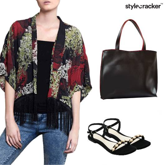 Tassel Layer Casual Work Weekday - StyleCracker
