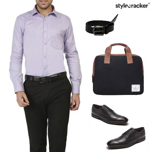 Shirt Pants Work Basics Formals - StyleCracker