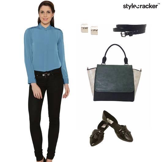 Blouse Top Formal Workwear ToteBag - StyleCracker