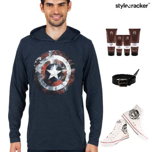 Sweatshirt HiTop Footwear Lunch Casuals - StyleCracker
