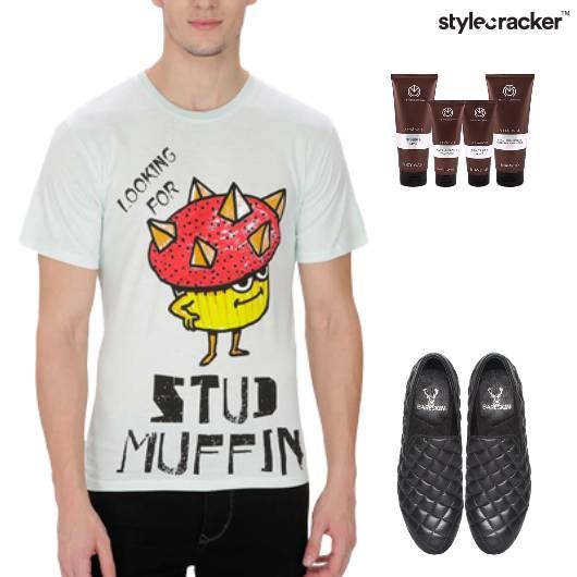 Graphic TShirt SlipOn Footwear Casual - StyleCracker