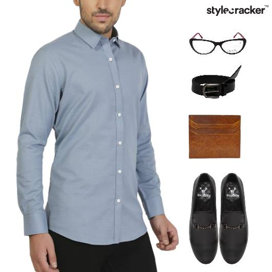 Shirt Chinos Bottoms SlipOn Footwear - StyleCracker