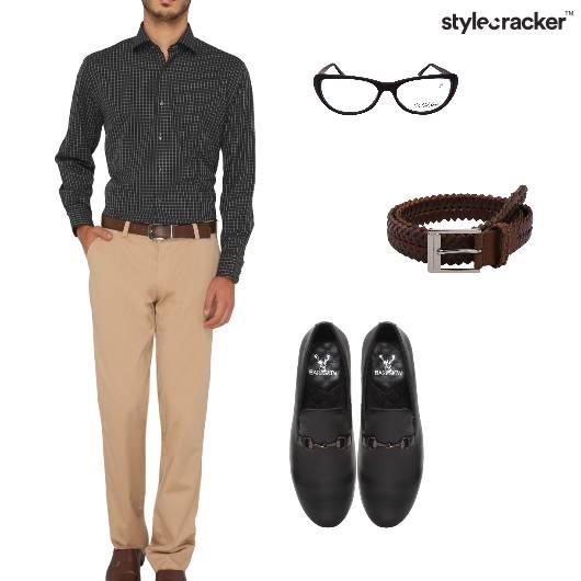 Checks Shirts Chinos Work Formal  - StyleCracker