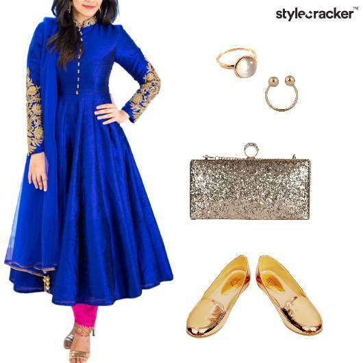 Anarkali Indian Ethnic Festive - StyleCracker