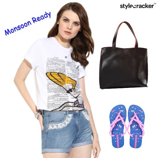 Casual Top FlipFlops Monsoon - StyleCracker
