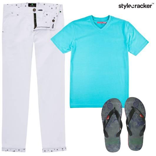 Tshirt Pants Casual Basics - StyleCracker