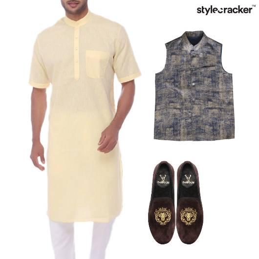 Kurta Coat Indian Ethnic Festive - StyleCracker