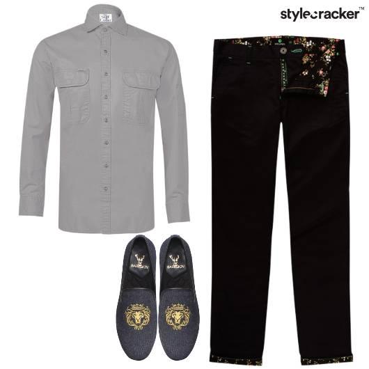 Shirt Chinos Slip-ons Dinner Weekend  - StyleCracker