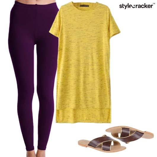 Casual BrightColours Flats  - StyleCracker