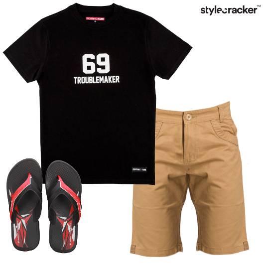 Casual GraphicTee Shorts - StyleCracker