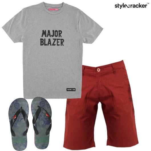Casual Slippers GraphicTee - StyleCracker