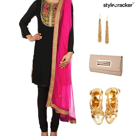 Indian Festive Ethnic Clutch Accessories - StyleCracker