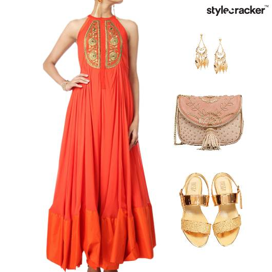 Indian Festive Wedding Ethnic Clutch - StyleCracker