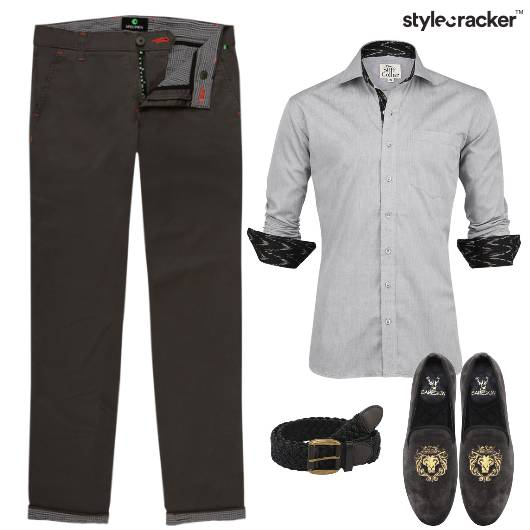 Shirt Chinos SlipOns Lunch  - StyleCracker