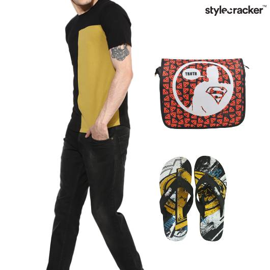 Tshrit Pants Casual College - StyleCracker