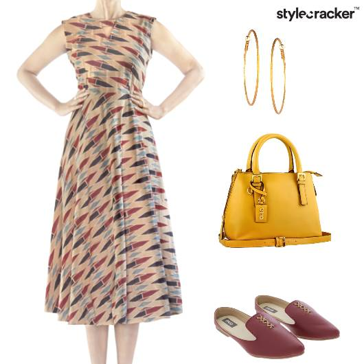 MidiDress Slipons BrightColours - StyleCracker