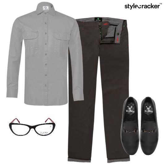 Shirt Trousers Work Formal  - StyleCracker