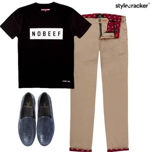 GraphicTee SlipOns Pants  - StyleCracker
