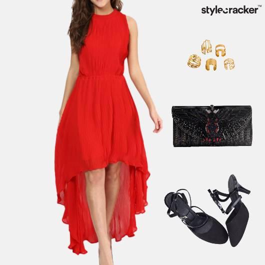 HiLow Dress Clutch SlingBack Footwear  - StyleCracker