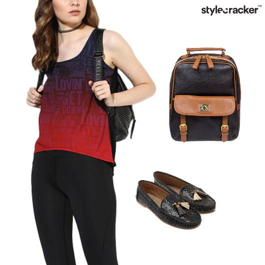 Casual Tank Top College Sporty - StyleCracker
