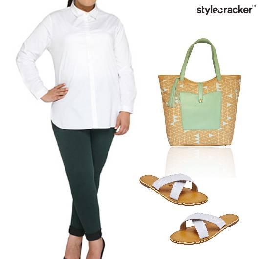 Shirt Jeggins Casual Work Outdoor - StyleCracker