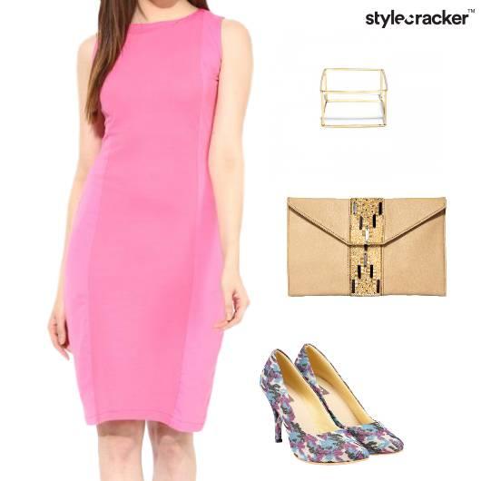 Bodycon Dress Night Party Clutch - StyleCracker
