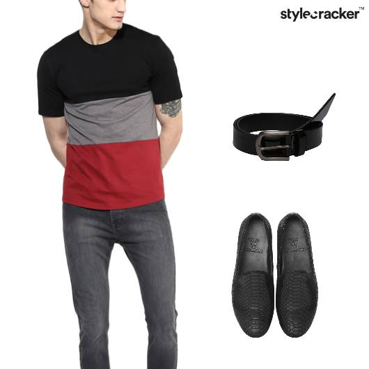 Tshirt Jeans Casual Night Party - StyleCracker