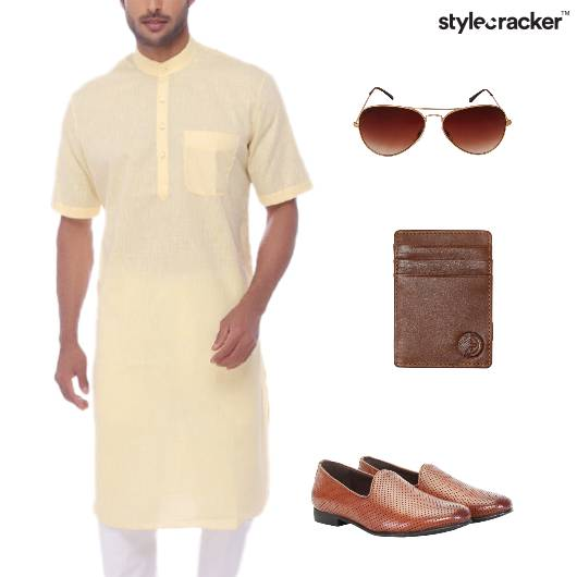 Kurta Indian Ethnic SlipOn Footwear - StyleCracker