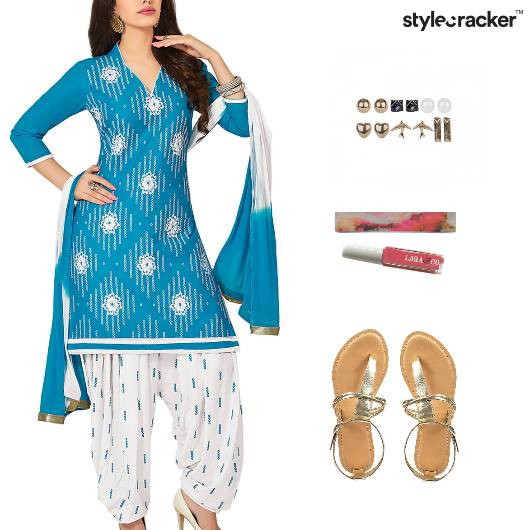 Indian Ethnic Work Daily Flats - StyleCracker