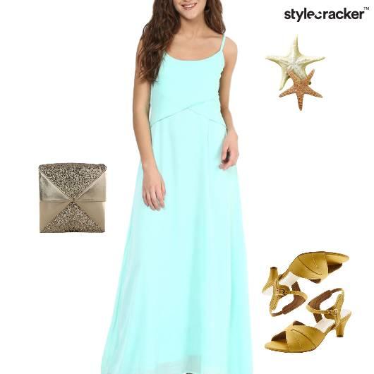 Maxi Dress Clutch Lunch Weekend - StyleCracker