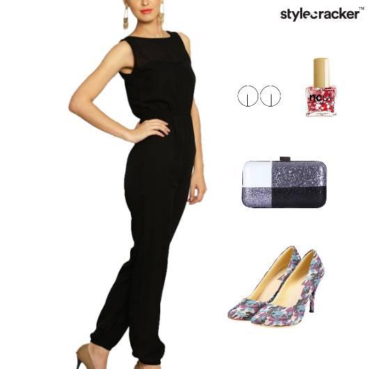 Jumpsuit Clutch Dinner Accessories Weekend - StyleCracker
