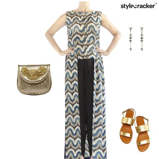 Ethnic Indian Festive Clutch Flats - StyleCracker