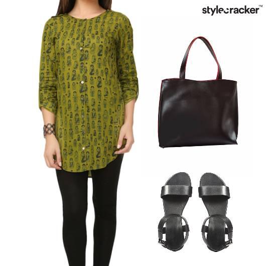 Indian Work Kurta Flats ToteBag - StyleCracker