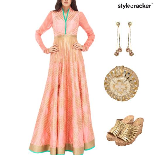 Indian Festive Reception Wedding Ethnic - StyleCracker