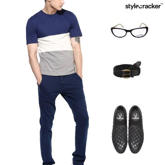 Casual TShirt Lunch SlipOn Footwear - StyleCracker