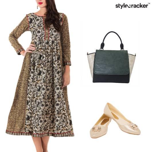 Midi Dress Brunch KittyParty - StyleCracker