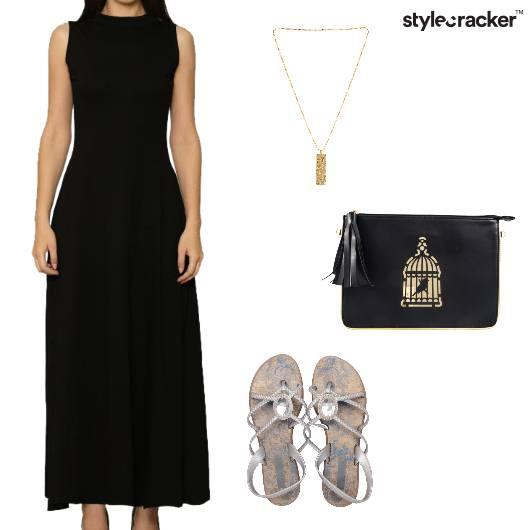 Midi Dress Lunch Outdoor - StyleCracker