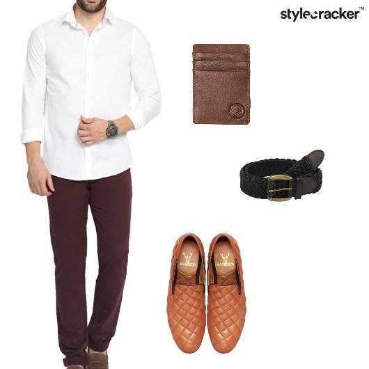 Shirt Chinos SlipOns Basics - StyleCracker