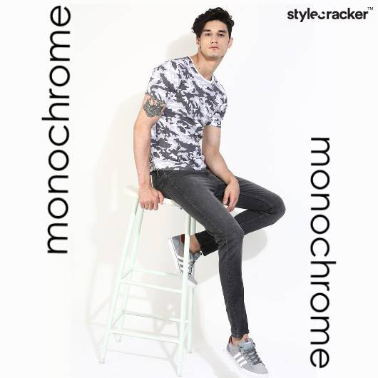 TShirt Jeans Casual Outdoor - StyleCracker