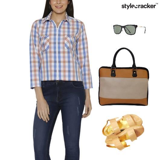 Shirt Work Meeting Flatform Footwear - StyleCracker