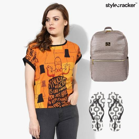 Casual Tshirt Jeans College Basics - StyleCracker