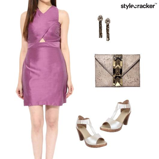 Silk Satin Dress Weekend Night Party - StyleCracker