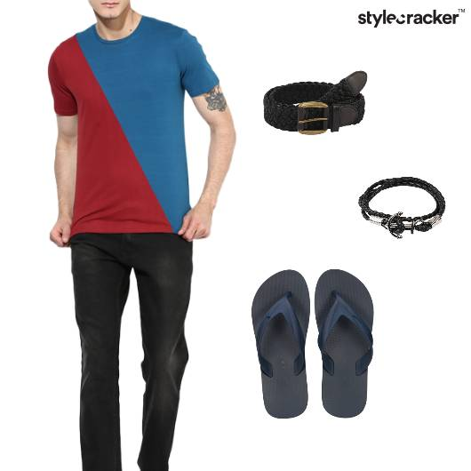 Combination Tshirt Casual Basics - StyleCracker