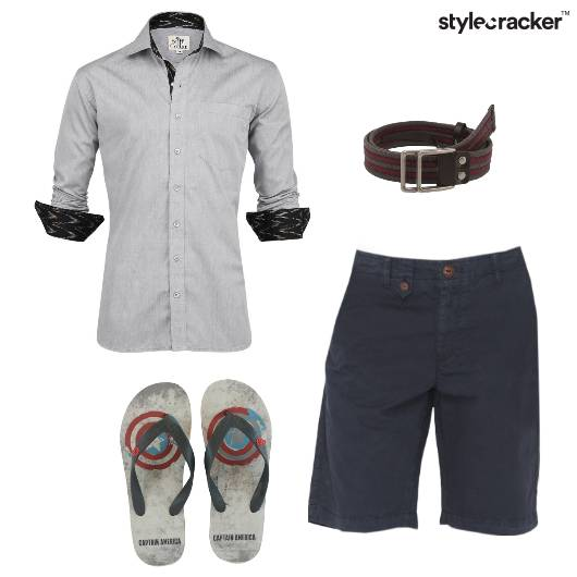 Shirt Shorts Casual Weekend Outdoor - StyleCracker